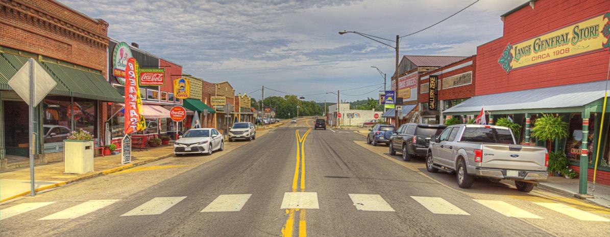 Steelville Missouri. Photo taken by Lawrence Brawn